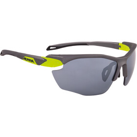 Alpina Twist Five HR CM+ Okulary rowerowe, tin matt-neon yellow